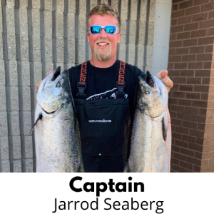 Jarrod - Lake Michigan Charter Fishing